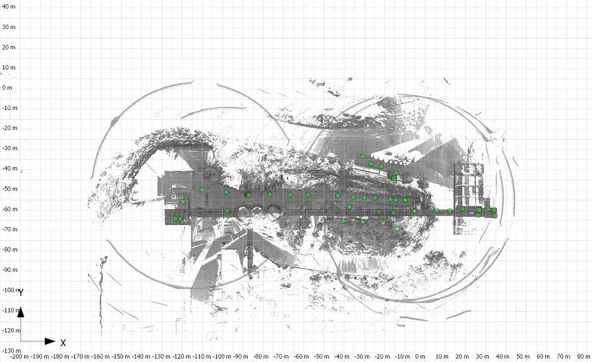 Kalksteinanlage-Punktwolke-Grundriss-PointCab_2