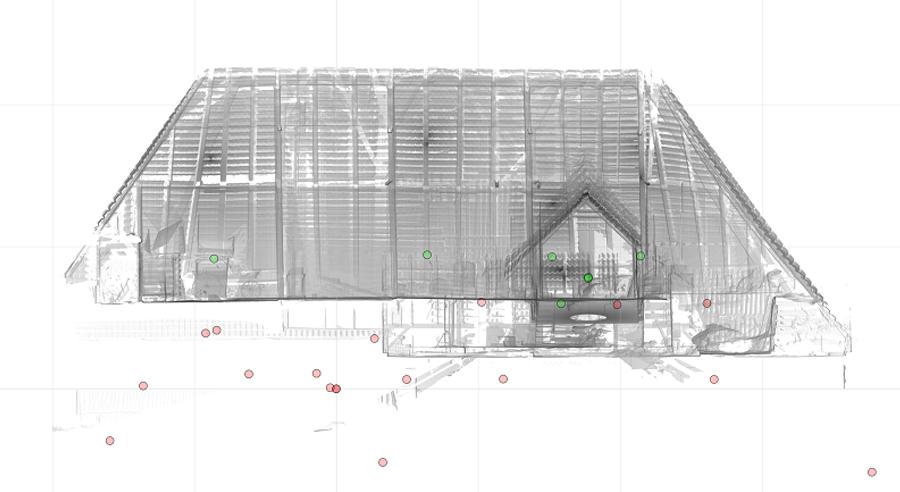 Modellierte-Fassade-eines-Bauernhauses