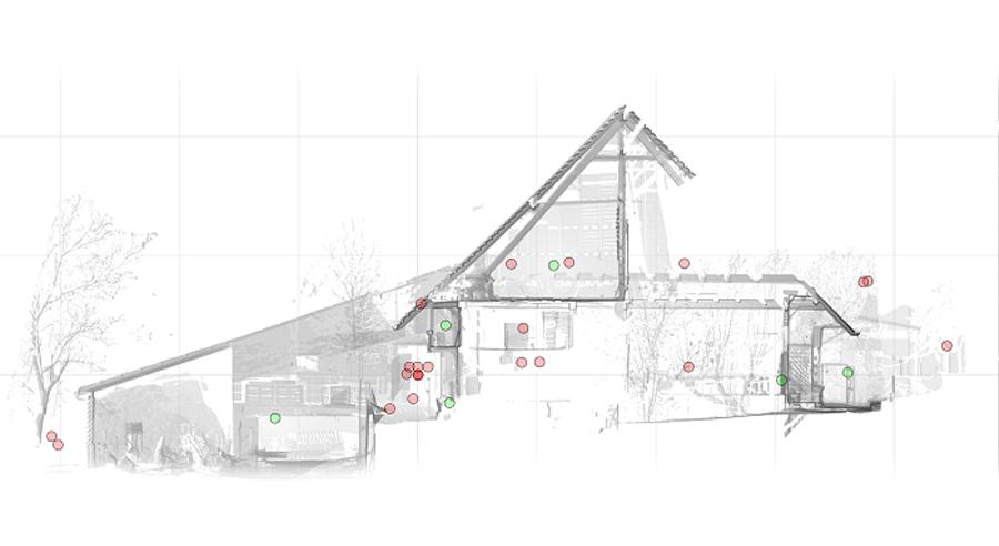 Modellierte-Fassade-eines-Bauernhauses2